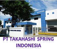 Lowongan Kerja Terbaru Mei 2016 PT Takahashi Spring Indonesia