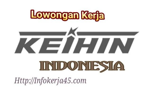Lowongan Kerja Operator Produksi PT Keihin Indonesia Terbaru