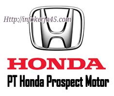 Lowongan Kerja Operator Produksi di PT. Honda Prosfect Motor Karawang